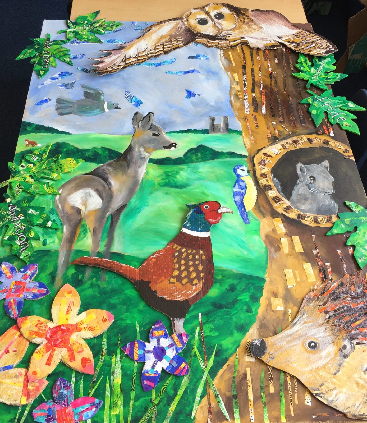 ArtBase Schools Wildflife Display